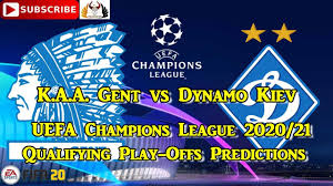 KAA Gent vs Dynamo Kiev | 2020-21 UEFA Champions League Qualifying  Play-Offs | Predictions FIFA 20 - YouTube
