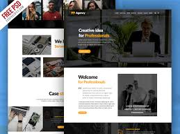 Personal Website Template Awesome Personal Portfolio And Corporate Website Template PSD PSDFreebies