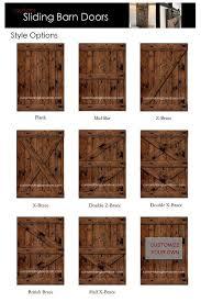 sliding barn doors interior. rustic sliding barn door custom made to fit slidingbarndoor doors interior a