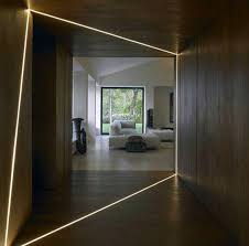 modern hallway lighting. Modern Led Strips Hallway Lighting Spectacular Ideas Modern Hallway Lighting S