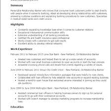 Download Banker Resume