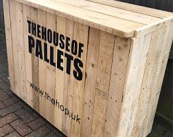pallet furniture etsy. Rustic Reclaimed Pallet \u0026 Scaffold Shop Counter/desk Personalised With Your Logo Furniture Etsy L