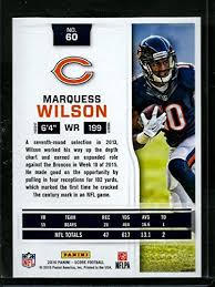 Bears Depth Chart 2016 Amazon Com Football Nfl 2016 Score 60 Marquess Wilson