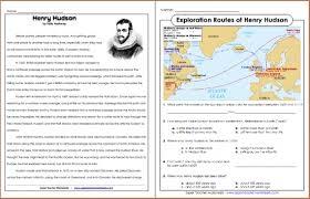 Explorers Worksheets