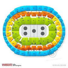 Staples Center Interactive Seating Chart Staples Center Seating Map Bampoud Info