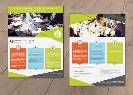 Training Flyer Colorful Professional Training Flyer Design For Inwardbound Center