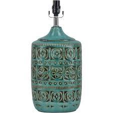 ceramic table lamp teal com