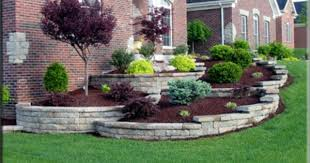 Small Picture Fabulous Retaining Wall Backyard Landscaping Ideas Backyard
