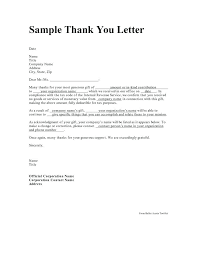 Cover Letter Thank You Proper Letterhead Template Letters