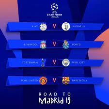 Uefa Champions League 2019 Calendario