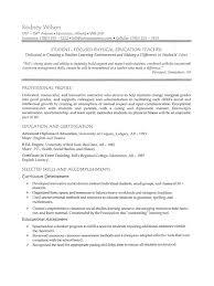 samples resumes for teachers resume sample for teaching teacher high school  resume sample for teaching teacher