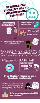 10 Things You Shouldn T Say To Instructional Designers