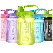 hot s1l 2l drinking water leakproof herbalife water bottle outdoor water bottle