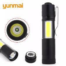 Đèn Pin LED 20000 Lumen, Túi Ngọn Đuốc Mini Đèn, Cắm Trại Đi Bộ Đường Dài  Không Thấm Nước Nhỏ Đèn Pin
