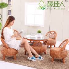 Wicker Rattan Living Room Furniture Wholesale Antique Royal Elegant Conservotary Indoor Wicker Bamboo