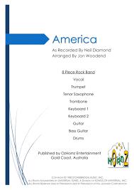 Preview America 8 Piece Rock Chart By Neil Diamond H0