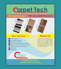 carpet cleaning flyer entry 4 by mishok123 for design a flyer for a carpet cleaning