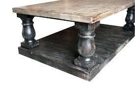 distressed black coffee table black distressed coffee table large turned leg coffee table built in reclaimed wood distressed black trunk black distressed