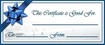 Create Your Own Gift Card Free Certificate Templates Design
