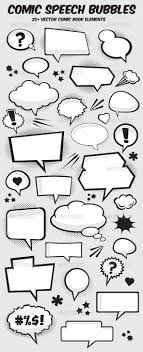 Word Bubble Templates Comic Book Word Bubbles Templates Tinkytyler Org Stock