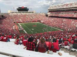 Seating Chart For Memorial Stadium Lincoln Nebraska This Seat Has An Obstructed View Of The Scoreboard At