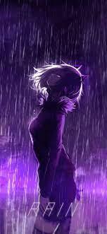 Purple Rain Anime Wallpaper - Novocom.top