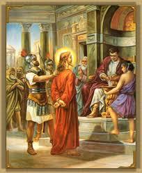 Resultado de imagem para Jesus no sinédrio