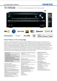 onkyo 646. also see for onkyo tx-nr646 646