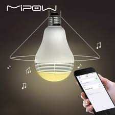 Control lighting with iphone Wifi Mipow Bluetooth Light Shape Speaker Playbulb Lite Smart Led Lights Wireless App Control Lamp Audio For Iphone 78 Andriod E27 Landscape Management Mipow Bluetooth Light Shape Speaker Playbulb Lite Smart Led Lights