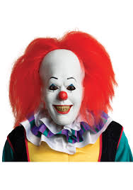pennywise the clown costumes com pennywise mask