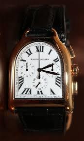 ralph lauren stirrup chronograph watch luxury watches that the