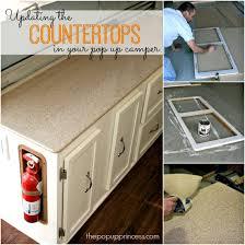 replacing countertops in your camper