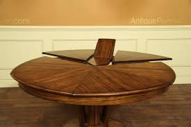 contemporary jupe table for modern expandable round dinin oval dining table with self storing leaves