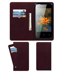 Lava Iris 356 Flip Cover by ACM - Red ...