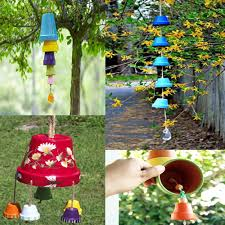 use household waste to decorate your garden