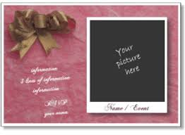 photo card maker templates printable birthday party invitation templates to add your photo to