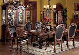 fancy dining room table sets. amazon.com - acme 04075b-set chateau de ville 7-piece formal dining set, table/4 chairs/2 arm chairs, cherry oak finish table \u0026 chair sets fancy room i