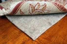 what type of rug pad is best for hardwood floors vinyl rug pad cushion best vacuum