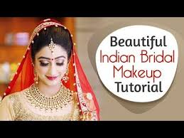 indian bridal makeup tutorial in hindi day time shimmery eyes you