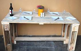 reclaimed pallet desk or dining table