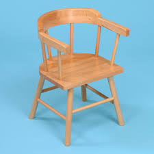 2 x wooden children 039 s captains chairs from early years