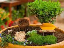 Fairy Garden Pictures How To Create A Fairy Garden In A Container How Tos Diy