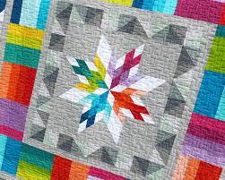 Aviatrix Medallion quilt sewing pattern by Elizabeth Hartman &  Adamdwight.com
