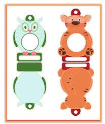 Christmas Photo Frames For Kids Free Printable Animal Christmas Frame Ornaments Jinxy Kids