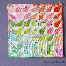 Modern Parti Quilts: Wonky Rainbow Burst Mini Quilt & I made this mini quilt over winter break. My partner mentioned that she  liked Heather Bailey and low volume fabrics. I had a jelly roll of Up  Parasol by ... Adamdwight.com