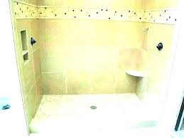 how to install shower base pan sizes oatey drain concrete floor