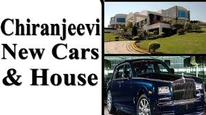 Chiranjeevi New Cars And House Inside And Outside View Hyderabad - Chiranjeevi house interior