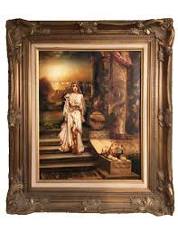 for realistic oil painting on canvas famous artist painting beautiful woman
