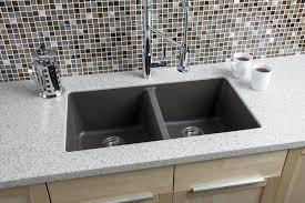 Hahn Granite Equal Double Bowl Kitchen Sink Walmartcom