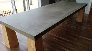 Concrete Top Dining Tables Concrete Top Dining Table Tips To Decorate The Concrete Dining